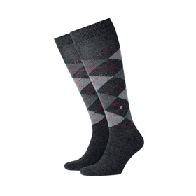 Burlington Socks man Preston Dark grey