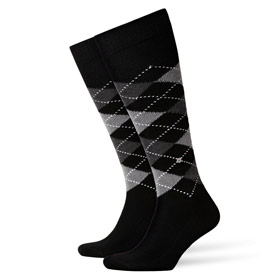 Burlington Socks man Preston Black