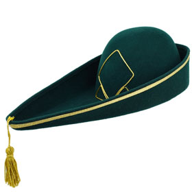 Feluca goliardica cappello universitario goliardico