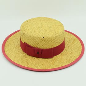 Marzi woman Boater straw hat