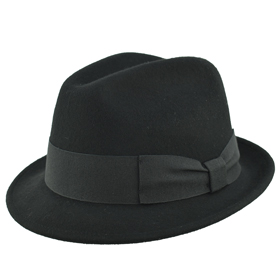 Melegari Cappello Trilby Basic Blues Brothers hat