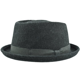 Melegari Charles Pork Pie Wool felt Hat