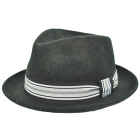 Melegari Cappello trilby washed Charles