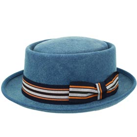 Melegari Cappello pork pie washed Charles