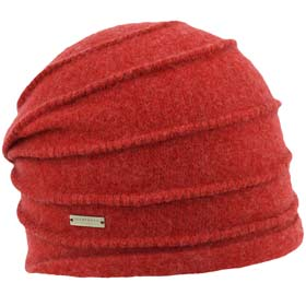 Seeberger Woman wool beanie Gretel Lobster