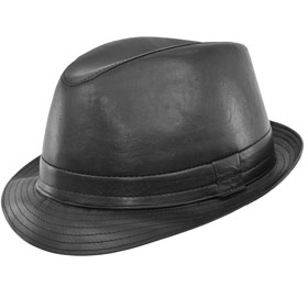 Melegari Cappello Brad Pitt Trilby Snatch soft Top Quality