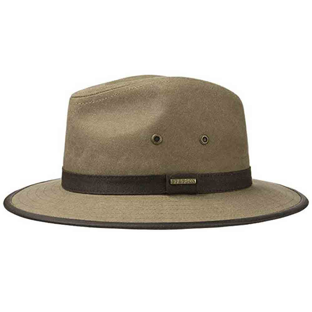 Stetson Cappello Traveller cotone canvas