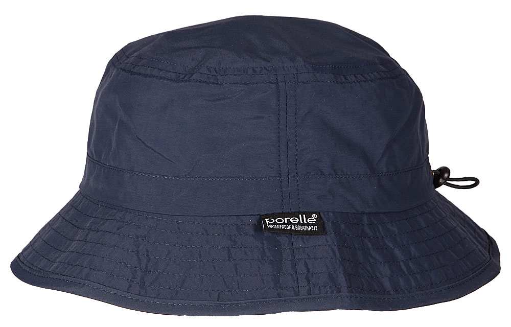 Waterproof bucket hat Hatland Jaco Porelle Blu