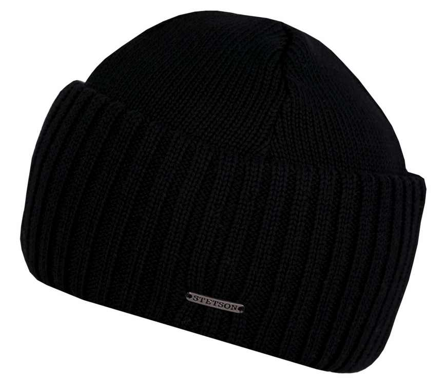 Beanie Stetson Northport pure new wool hat