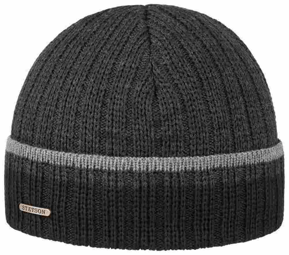 Stetson wool-acrylic knit hat Basic