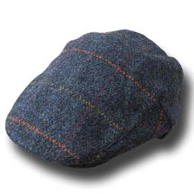 John Hanly Irish tweed Flatcap
