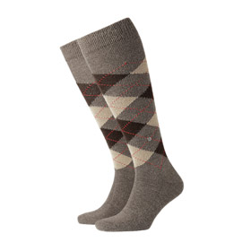 Burlington Socken mann Preston Hellbraun