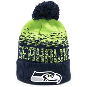 New Era Berretto pom pon NFL Seattle Seahawks