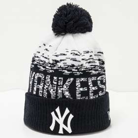 New Era Berretto pom pon MLB New York Yankee