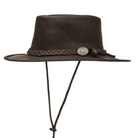 Scippis Saddler Australian Leather hat