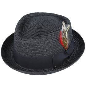 Melegari Cappello estivo Pork Pie Jazz Hat Jac