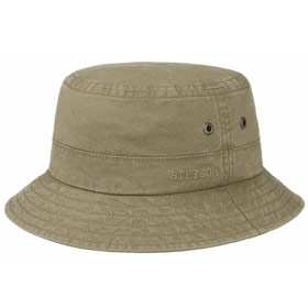 Stetson Roscoe fisherman delave cotton Hat kak