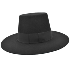 Guy Fawkes V mask conic top hat