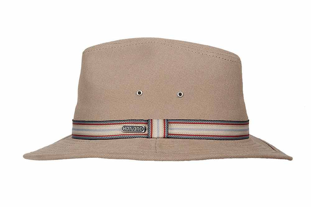 Hatland Cappello Max Cotton hat Beige