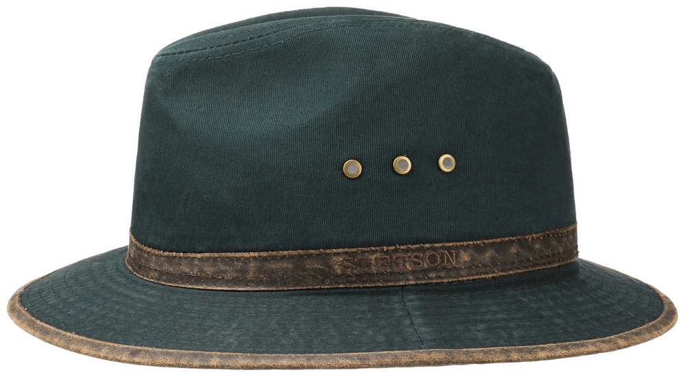 Stetson Cappello Kansas Ava Cotton Blu scuro