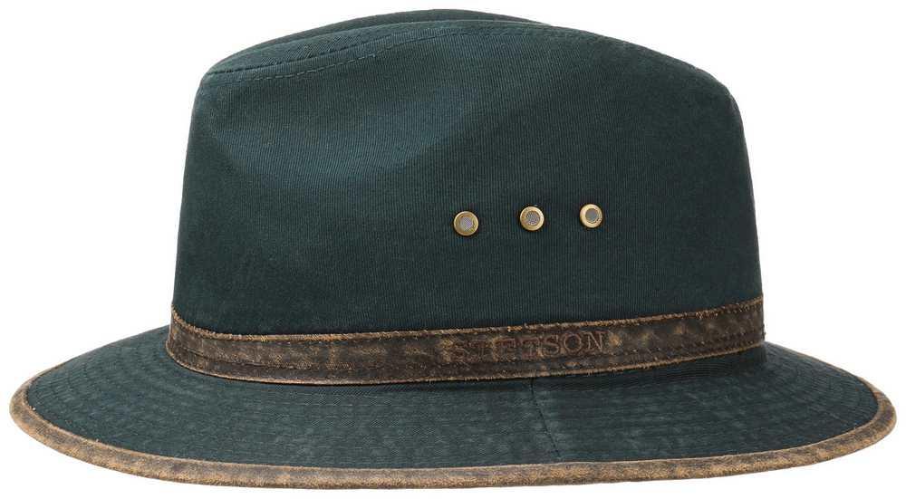 Stetson Cappello Kansas Ava Cotton Blu scuro 2d2444d00b37