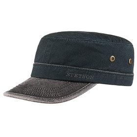 Stetson cotton army cap