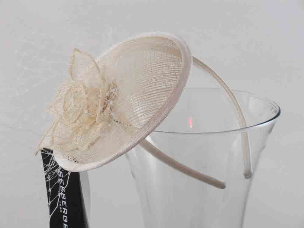 Seeberger Acconciatura sposa cerchietto Colette Panna