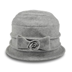 Melegari Cappello cloche donna in pile Calixte