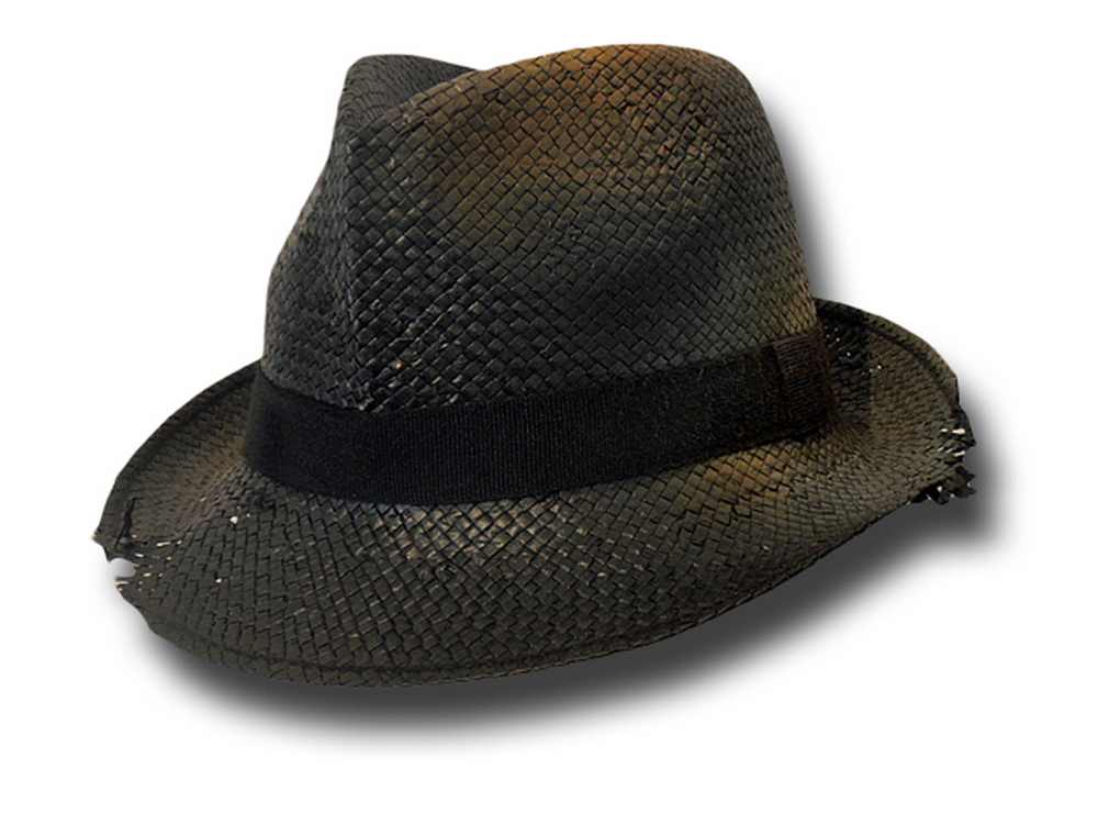 Trilby man hat  Dusty