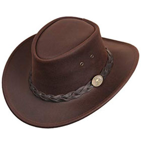 Scippis Bushman Australian leather hat
