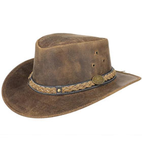 Scippis Cappello Australiano in pelle Williams