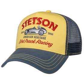 Stetson Berretto Baseball Trucker Dirt track Racing
