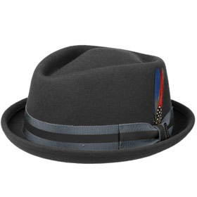 Stetson Cappello pork pie woolfelt Diamond