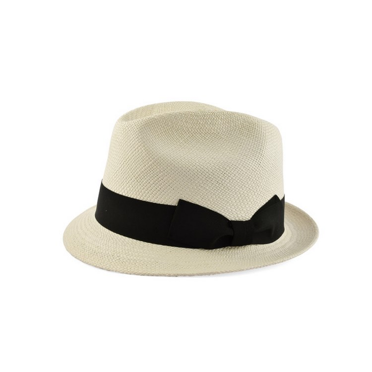 Chapeau Panama trilby extra by Melegari 42