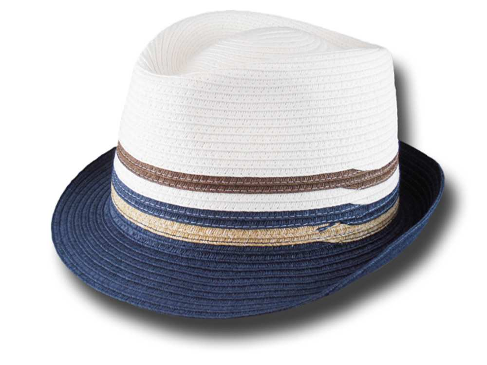 Cappello estivo trilby in cellulosa Asnar