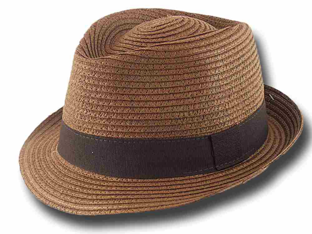 Cappello estivo trilby in cellulosa Aimar