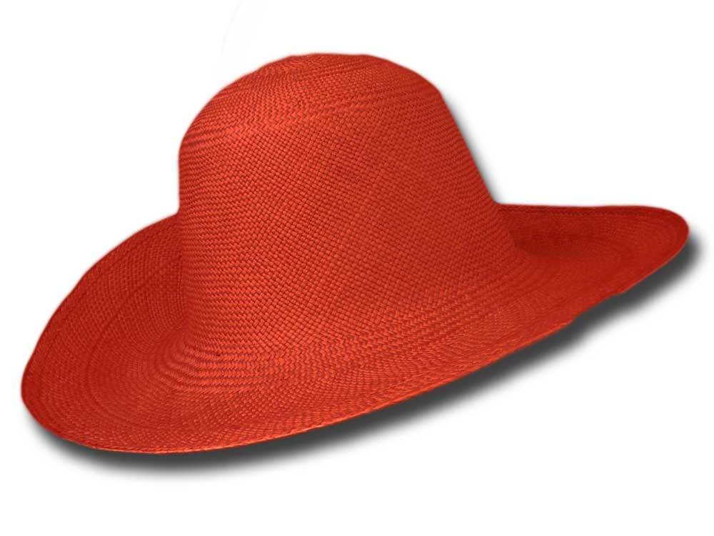 Melegari Summer Pamela Panama hat Red