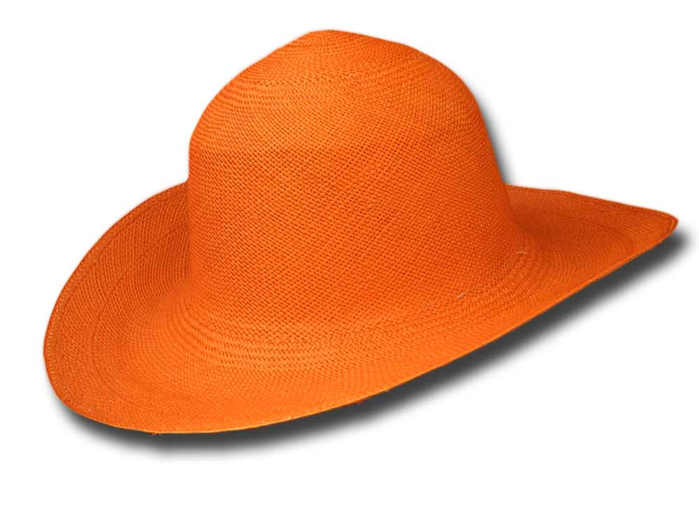 Melegari Summer Pamela Panama hat Orange