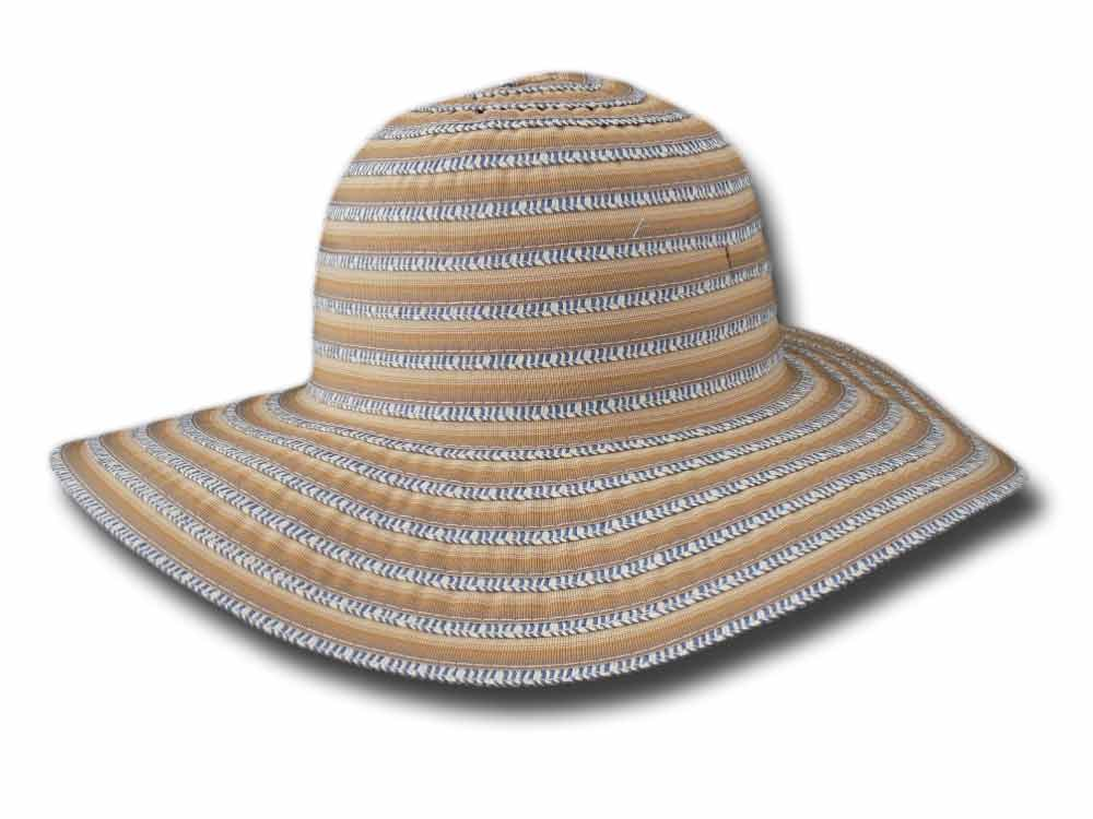 Melegari Summer woman Bicolor hat Pamela Many