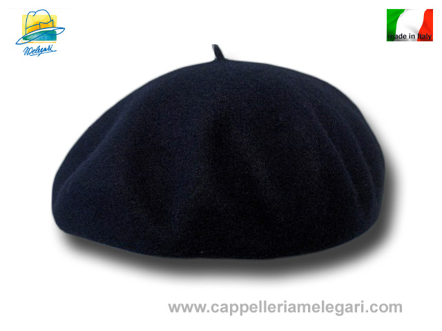 B2B Beret basque wool lined Pino 24 cm