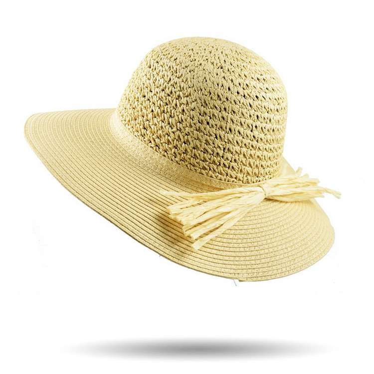 Melegari Summer woman crochet floccule hat Pam