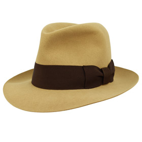 Cappello Fedora Keith Richards antiqued Lapin