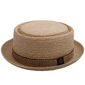 Stetson BBQ Pork Pie straw hat