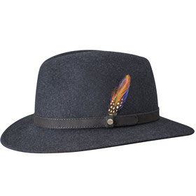 Stetson Cappello Traveller Flexible Woolfelt