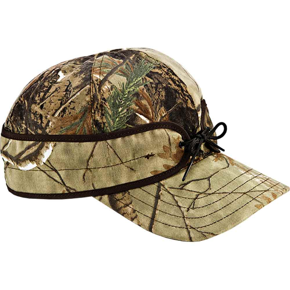 The Original Stormy Kromer Field Realtree Cap