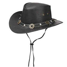 Scippis Concho Australian leather hat