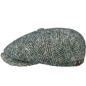 Trilby Cappello A QUADRI UNISEX-ROSSO-CAPPELLINO scozzesi pattern