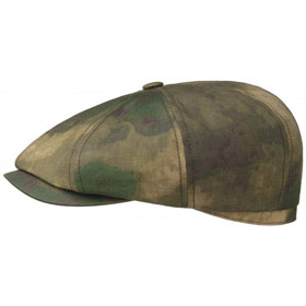 Stetson Berretto Hatteras waxed cotton Camufla