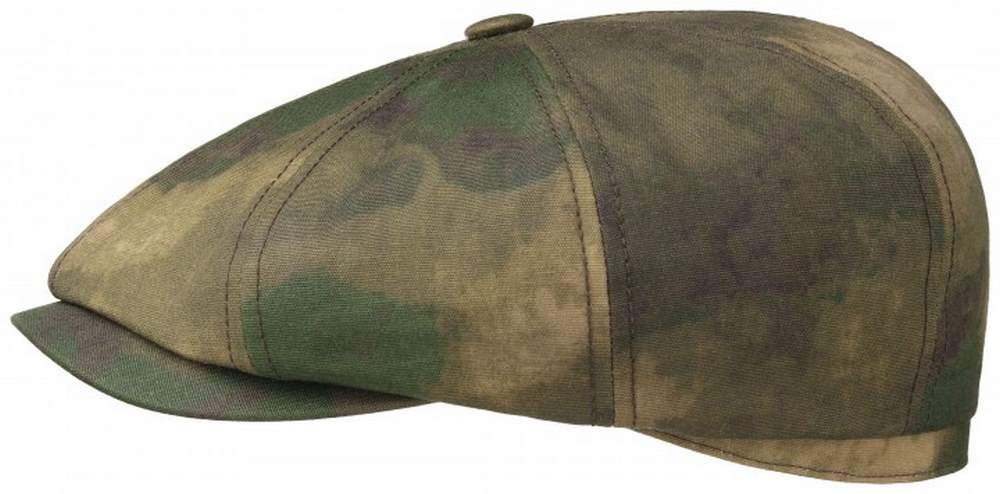 Stetson Berretto Hatteras waxed cotton Camuflage