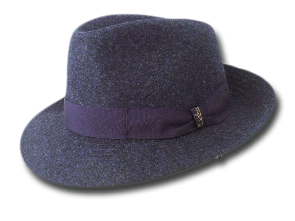 Borsalino man Wool Hat Blue